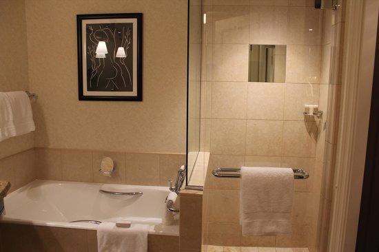 Four Seasons Hotel Prague: vista do banheiro