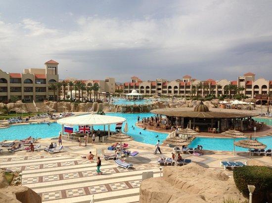 Tirana Aqua Park Resort: View from our balcony