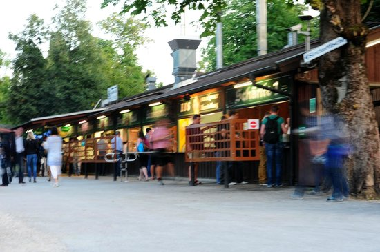Hirschgarten Food and Beer Stands