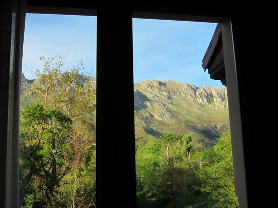 Hotel Rural Arpa de Hierba: vista desde dentro