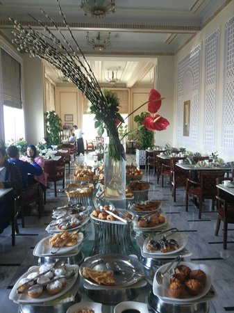 Steigenberger Cecil Hotel : NIce breakfast at Cecil Sofitel, Alexandria