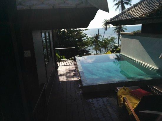 Centara Villas Samui: 139. Our pool villa ocean view. Very private.