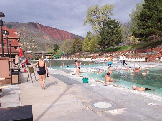 Glenwood Hot Springs Pool : Both pools