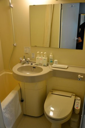 Plaza Inn Hamura : Ванная