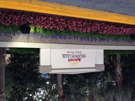 Marriott's Sabal Palms: Entrance
