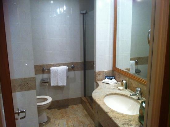 Hilton Paris Charles de Gaulle Airport : salle de bain