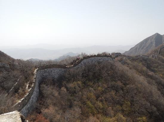 Beijing Great Wall Hiking: Jainkou deel Grote muur
