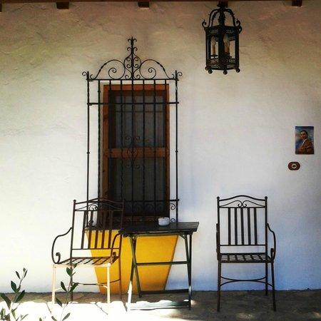 Cortijo Los Monteros: Vista de la habitación