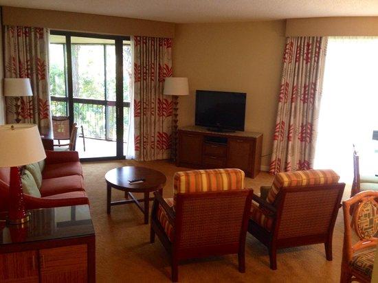 Marriott's Sabal Palms: Living room