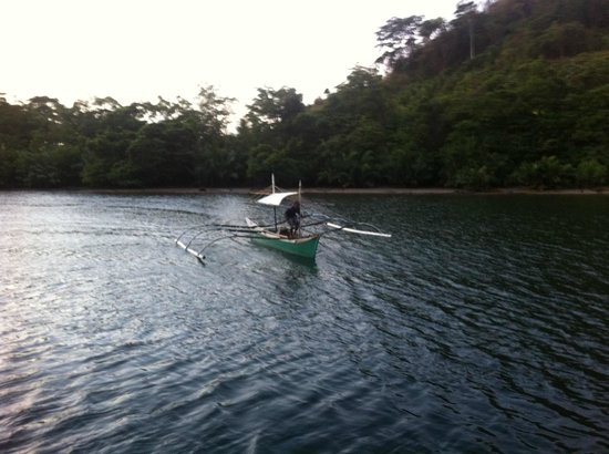 Palawan Mangrove Resort: pickup for fishing