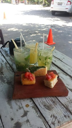 Batey Mojito & Guarapo Bar: Moijitos y guarapo