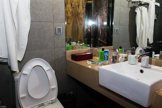 Shanghai Narada Boutique Bund: Все чистенько, сантехника работает, вода подается исправно )