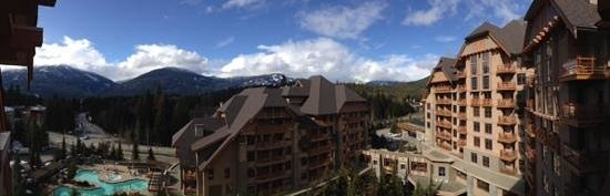 Four Seasons Resort and Residences Whistler : View from a 7th Floor Balcony