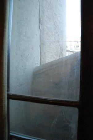 Casaltura The Boutique Hostel: Vue sur mur...