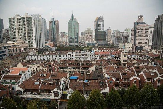 SSAW Boutique Hotel Shanghai Bund: Вид из окна. По-моему, это прекрасно.