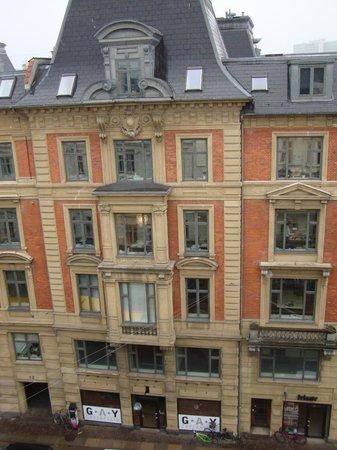 First Hotel Kong Frederik : Вид из окна