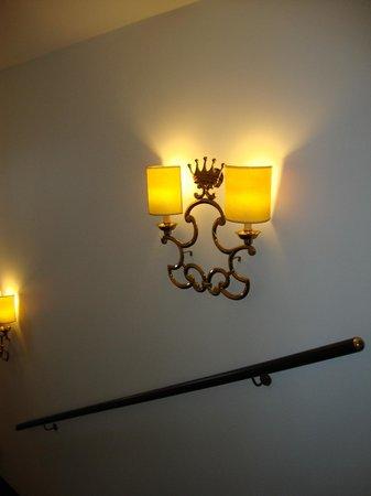 First Hotel Kong Frederik : Лестница