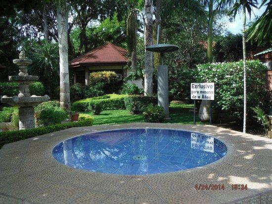 Villa Acacia: the kiddie pool