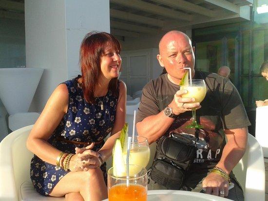 Sandos Papagayo Beach Resort: cocktails