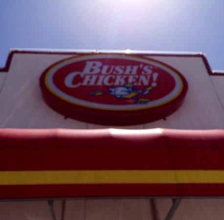 Bush's Chicken: Front Entrance