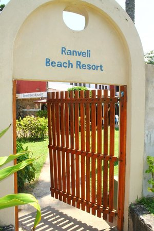 Ranveli Beach Resort : patio