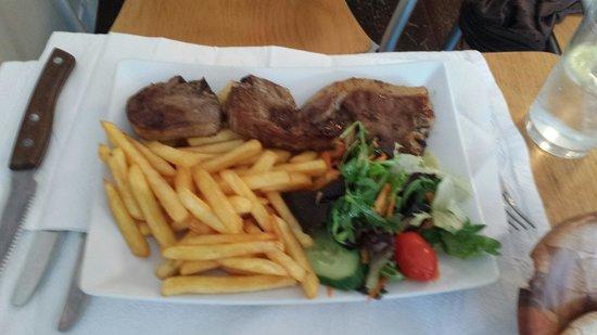 Turkish Grille Restaurant : Lamb pirzola