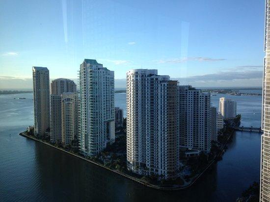 JW Marriott Marquis Miami: Vue de notre chambre