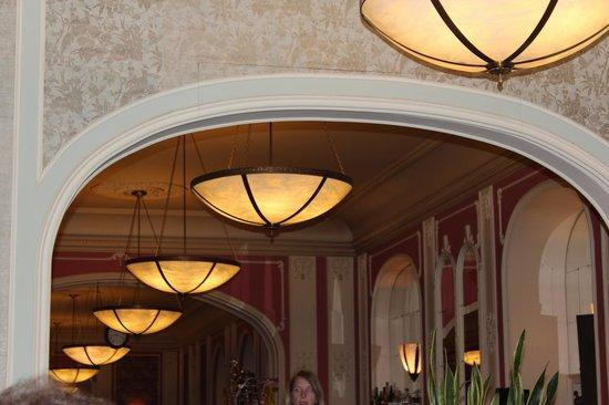 Cafe Louvre : decoração do café