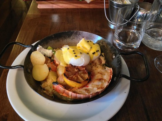 Whitefriar Grill: Lobster Hash
