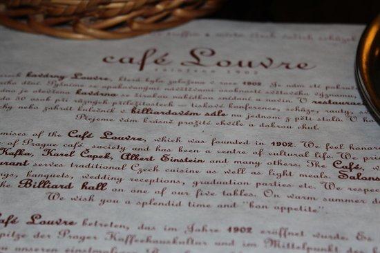 Cafe Louvre : café louvre