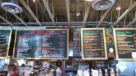 La Grande Orange Grocery: ordering
