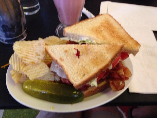 Crown Candy Kitchen: BLT Plate