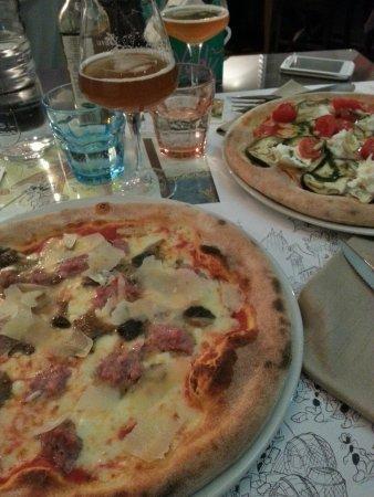 Uva e Menta : Pizza trentina e pizza estremo sud