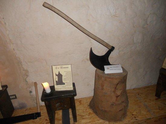 Rocca Albornoz di Narni: Sala dei tormenti