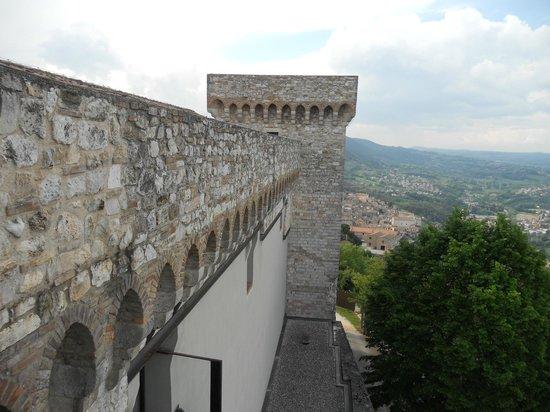 Rocca Albornoz di Narni: panorama
