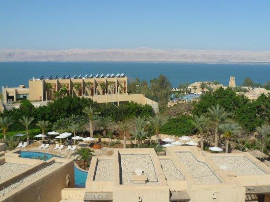 Movenpick Resort & Spa Dead Sea: Blick vom Balkon 3. Etage