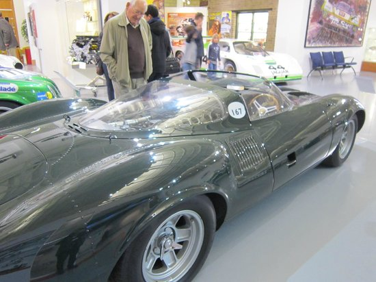 British Motor Museum: One of the stunning Jags on display