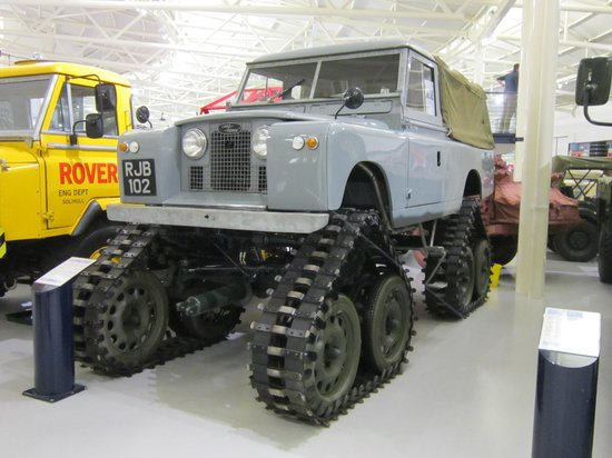 British Motor Museum: This is to get through those awkward parking situations....