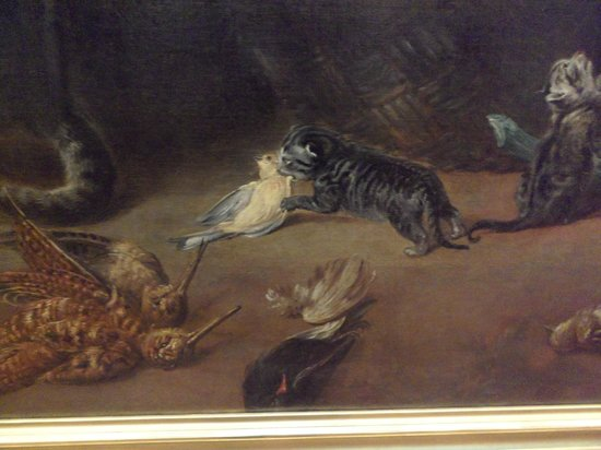 Musee des Beaux-Arts: I like details of cats!
