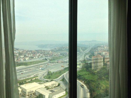 Le Méridien Istanbul Etiler: View
