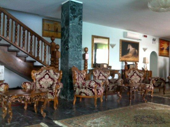 Hotel Negresco : L'interno...