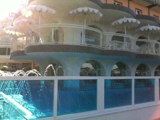 Hotel Negresco : la piscina