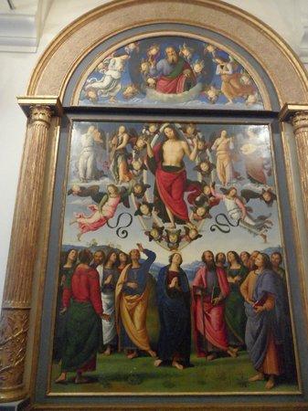 Musée des Beaux-Arts de Lyon : Painting in main entrance