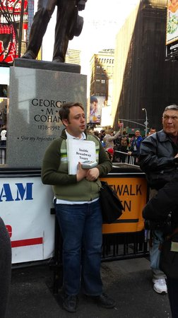 Inside Broadway Tours : Our tour guide