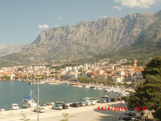 Aparthotel Park Osejava: Makarska vom Balkon
