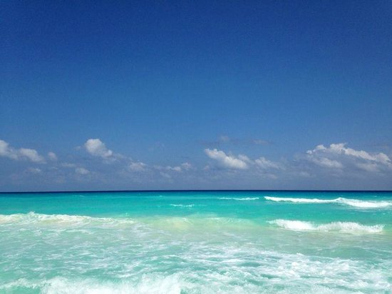 Grand Oasis Cancun: море