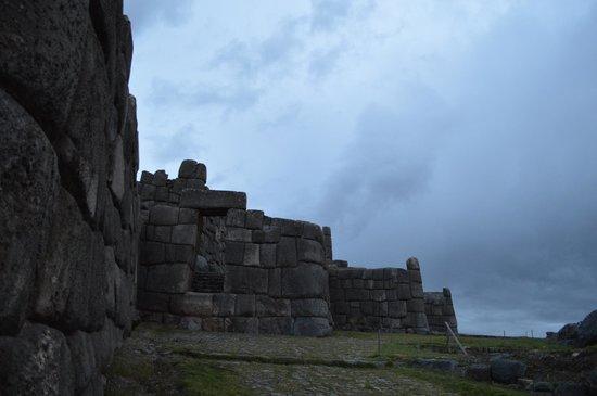 Sacsayhuamán: fim de tarde
