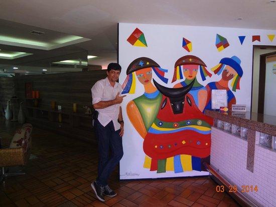 Hotel Sesc Olho D'Agua : Típico da cultura da cidade.