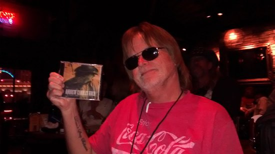 Raiding The Rock Vault: Gary English spreading g the word of my new release right on