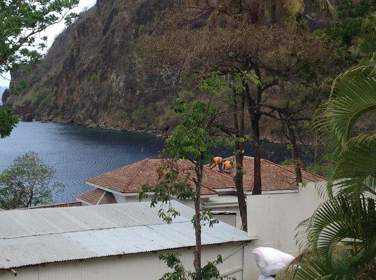 Sugar Beach, A Viceroy Resort : View from villa 112